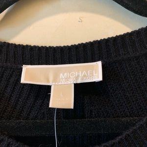 MICHAEL Michael Kors Sweaters - MICHAEL KORS Black Sweater Size L